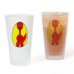 Dino-Saurus - In the Egg Drinking Glass
