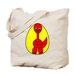 Dino-Saurus - In the Egg Tote Bag