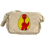 Dino-Saurus - In the Egg Messenger Bag