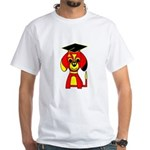 Red Beagle Dog White T-Shirt