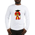 Red Beagle Dog Long Sleeve T-Shirt