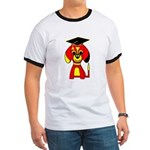 Red Beagle Dog Ringer T