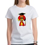 Red Beagle Dog Women's T-Shirt