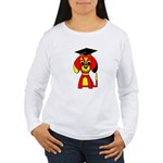 Red Beagle Dog Women's Long Sleeve T-Shirt