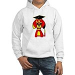 Red Beagle Dog Hooded Sweatshirt