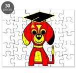 Red Beagle Dog Puzzle