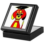Red Beagle Dog Keepsake Box