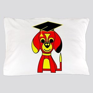 Red Beagle Dog Pillow Case