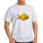 goldfish-yellow-background.png Light T-Shirt
