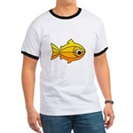 goldfish-yellow-background Ringer T