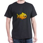 goldfish-yellow-background.png Dark T-Shirt