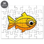 goldfish-yellow-background Puzzle