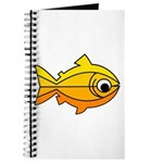 goldfish-yellow-background Journal