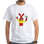 Bad Habit Rabbit White T-Shirt