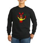 Bad Habit Rabbit Long Sleeve Dark T-Shirt