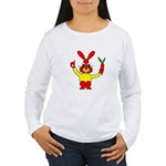 Bad Habit Rabbit Women's Long Sleeve T-Shirt