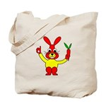 Bad Habit Rabbit Tote Bag