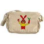 Bad Habit Rabbit Messenger Bag
