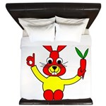 Bad Habit Rabbit King Duvet