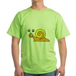 Take it Easy Snail Green T-Shirt