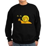 Take it Easy Snail Sweatshirt (dark)