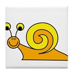Take it Easy Snail Tile Coaster