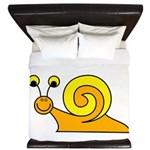 Take it Easy Snail King Duvet