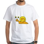Take it Easy Snail White T-Shirt