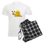Take it Easy Snail Men's Light Pajamas