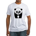 Save the Panda - an Endangered Species Fitted T-Sh