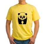 Save the Panda - an Endangered Species Yellow T-Sh