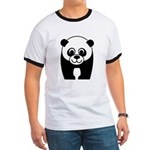 Save the Panda - an Endangered Species Ringer T