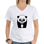 Save the Panda - an Endangered Species Women's V-N