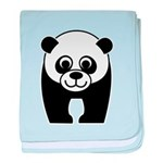Save the Panda - an Endangered Species baby blanke