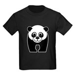 Save the Panda - an Endangered Species Kids Dark T