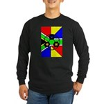 South Africa Long Sleeve Dark T-Shirt