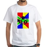 South Africa White T-Shirt