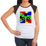 South Africa Women's Cap Sleeve T-Shirt