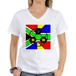 South Africa Women's V-Neck T-Shirt