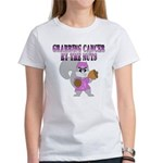 Julie's Custom Grabbing Cancer Women's T-Shirt
