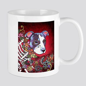 DiaLos Muertos dog Mug