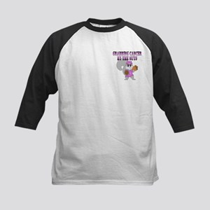 Grabbing cancer by the nuts Kids Baseball Jersey