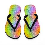 Rainbow Microwaves Flip Flops