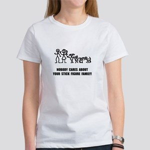 Anti Stick Figure Family T-Shirt