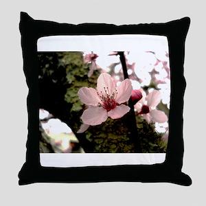 Cherry Blossom, 1 Throw Pillow