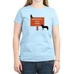 cat at dogpark T-Shirt