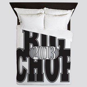 Big Chop Large Queen Duvet