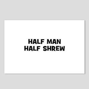 Half Man~Half Shrew Postcards (Package of 8)
