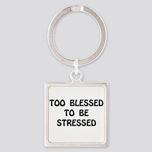Blessed Stressed Keychains