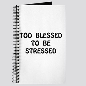 Blessed Stressed Journal